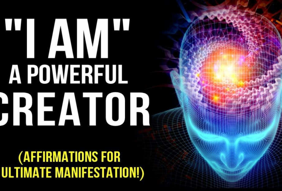 """l AM"" A POWERFUL CREATOR! Positive Affirmations to Program Your Mind 