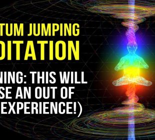 Quantum Jumping Guided Meditation: Enter a PARALLEL REALITY & Manifest FAST! (Law Of Attraction)