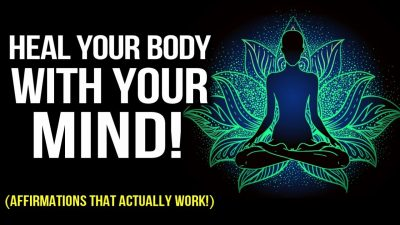 """""""I AM"""" Positive Affirmations for RAPID Healing (Law of Attraction Meditation) Heal Your Body w Mind!"""