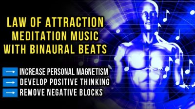 Law of Attraction Relaxing Meditation Music ➡️ Increase Personal Magnetism   Binaural Beats (396Hz)
