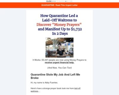New Pd Offer 2020 - $2+ Epc - 90% Commission - Urgent Money Miracle