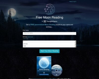 Get your FREE Moon Reading!