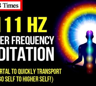 """""""1111"""" Hz Master Frequency Meditation + OM 108 Times! (""""11:11"""" Ascension Gateway) Law Of Attraction"""