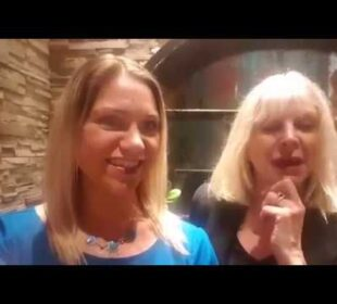 Marisa Peer and I talking about the Phenomenal RTT Rapid Transformational Therapy