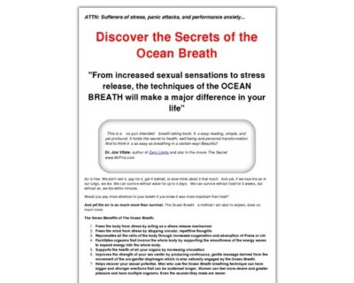 Revolutionary Breathing Technique Relieves Stress and Helps Relax - The Ocean Breath
