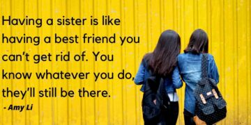 quotes on sisters